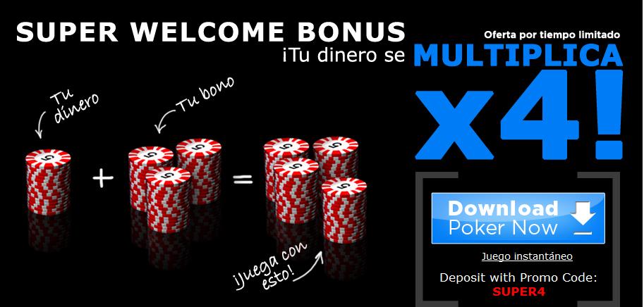 registrate y recibe el bono de bienvenida de la sala de poker 888poker