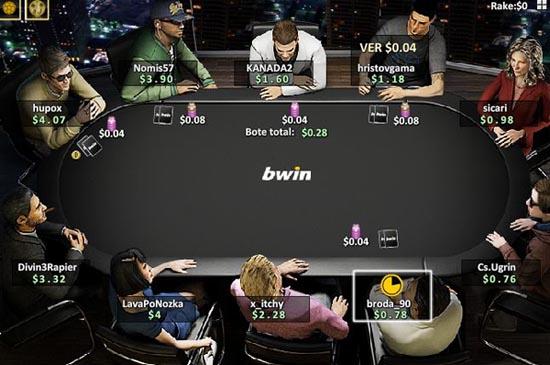Bwin te da un bono de bienvenida para entrar y jugar poker