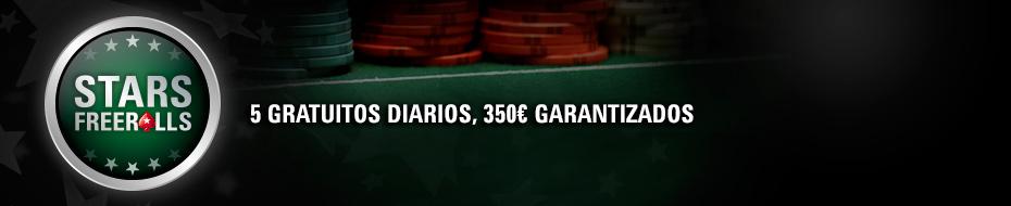 Registrate en la sala de PokerStar y participa en los torneos de poker exclusivos para españoles