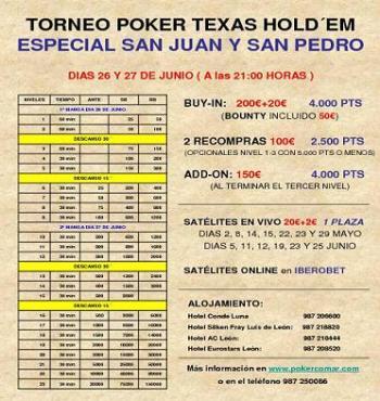 Casino León Torneo San Juan
