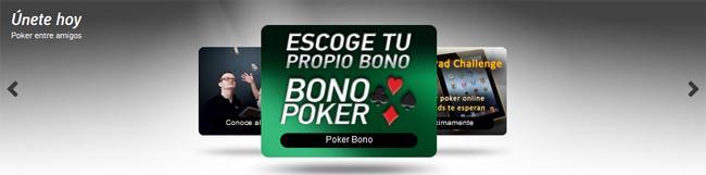 registrate con paf y recibe el bono de bienvenida para entrar y jugar poker en la sala