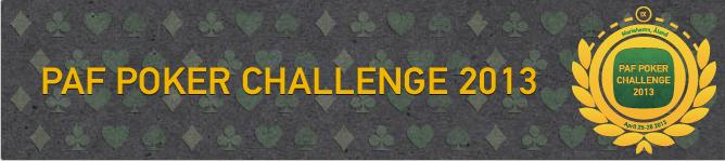registrate en sala de poker paf y puedes participar en el torneo Paf Poker Challenge 2013