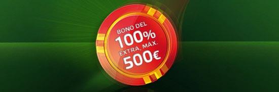 Bono bienvenida Party Poker