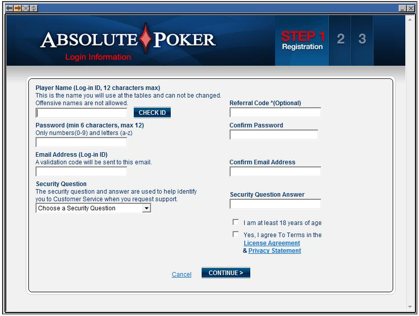 Absolute poker download