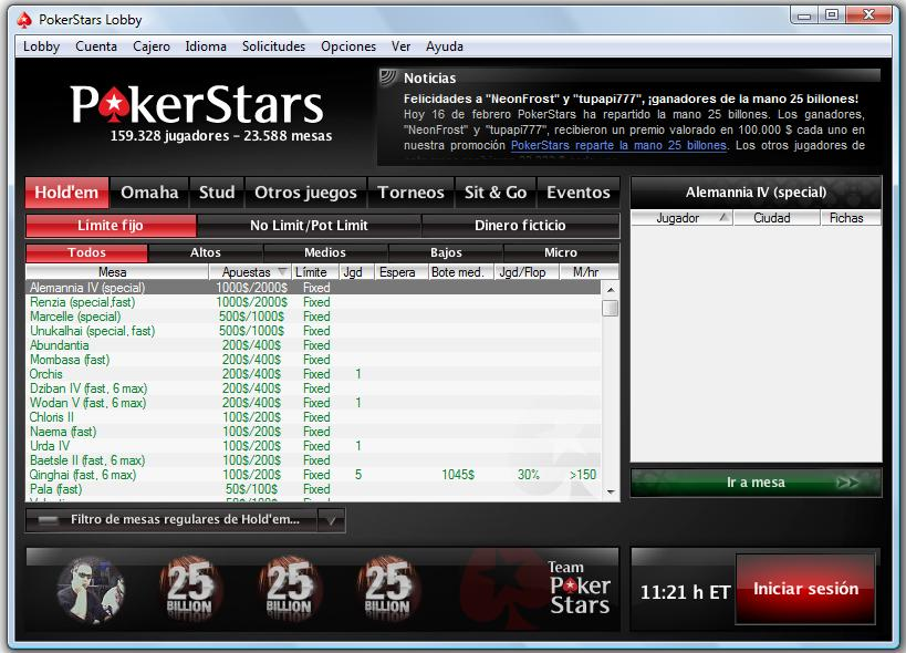 Poker star gratis jugar scotts poker table forum